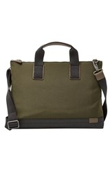 Men's Skagen 'Kruse' Nylon Crossbody Document And Laptop Bag