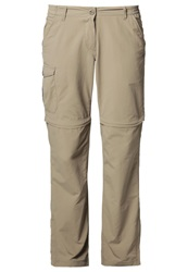 Craghoppers Nosilife Trousers Beige Dark Brown