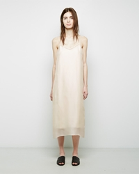 The Row Orali Dress Dark Cream