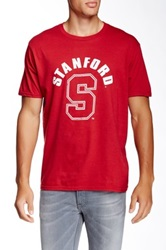 Original Retro Brand Stanford Luck 12 Tee Red