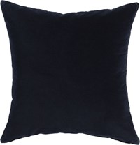 Cb2 Leisure Navy 23'' Pillow With Feather Insert