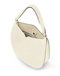 Valextra Weekend Leather Hobo Bag No Color