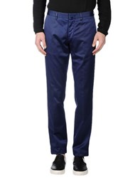 Boglioli Trousers Casual Trousers Men Blue