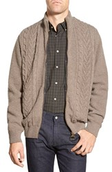 Men's Barbour 'Gregor' Zip Front Sweater