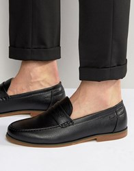 New Look Penny Loafer In Black Black