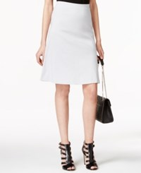 Alfani Petite Zip Pocket A Line Skirt Only At Macy's New City Silver