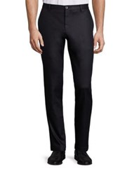 Sand Stretch Coated Trouser Black