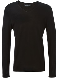 Neil Barrett Lightweight Sweater Black