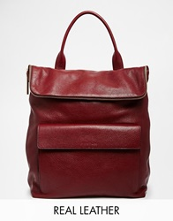 Whistles Exclusive Verity Backpack In Oxblood