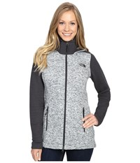 The North Face Indi Insulated Hoodie Lunar Ice Grey Heather Asphalt Grey Women's Coat Gray