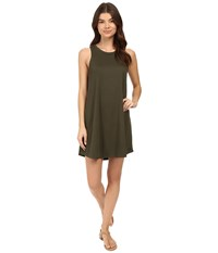 Hurley Dri Fit Knit Dress Cargo Khaki Women's Dress