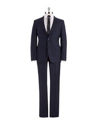 Dkny 2 Piece Extra Slim Suit Navy