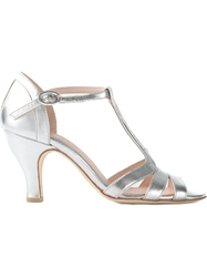Repetto 'Beth' Sandals Metallic