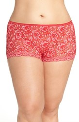 Hanky Panky Plus Size Women's 'Betty' Lace Boyshorts