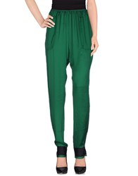 Lanvin Trousers Casual Trousers Women Green