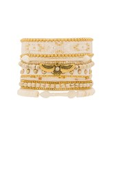 Hipanema Multi Bracelet White