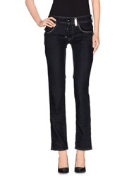 High Denim Denim Trousers Women