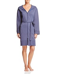 Dkny Intimates Long Sleeve Hooded Terry Robe Anchor