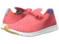 Native Apollo Moc Torch Red Shell White Natural Rubber Shoes Orange