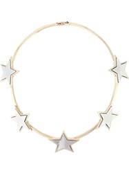 Givenchy Star Necklace Metallic