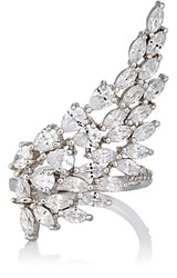 Fallon Women's Monarch Cluster Wing Ring No Color