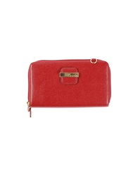 Braccialini Wallets Red