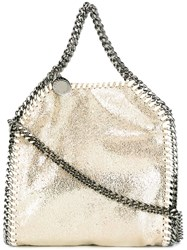Stella Mccartney Tiny 'Falabella' Tote Nude And Neutrals
