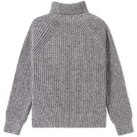 Inis Meain Boatbuilder Roll Neck Grey