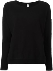 Philo Sofie Round Neck Pullover Black