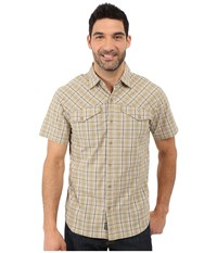 Outdoor Research Pagosa Short Sleeve Shirt Caf Men's Clothing Brown