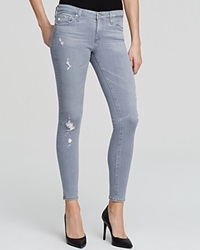 Ag Jeans Ag Adriano Goldschmied Jeans Legging Ankle In 10 Years Light Onyx