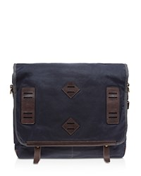 Will Leather Goods Mirror Lake Messenger Bag Navy