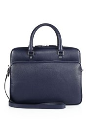 Salvatore Ferragamo Gamma Soft Leather Briefcase