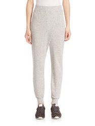 Rag And Bone Draped Jogger Pants Heather Grey