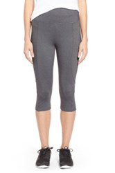 Nydj Fit Solution Trainer Cropped Legging Gray
