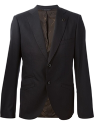 Maurizio Miri Two Buttons Classic Jacket Black