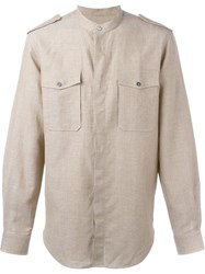 Ports 1961 Chest Pocket Shirt Nude And Neutrals