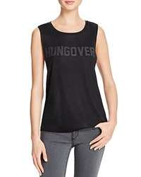 Private Party Hungover Tank Black
