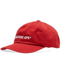 A Bathing Ape Head Cap Red