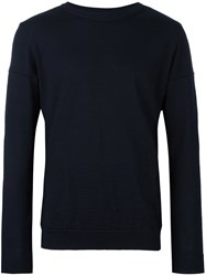 S.N.S. Herning 'Intro' Crew Neck Jumper Blue