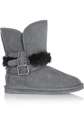 Australia Luxe Collective Hatchet Short Shearling Boots Gray