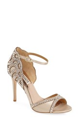 Badgley Mischka Women's 'Roxy' Sandals Nude