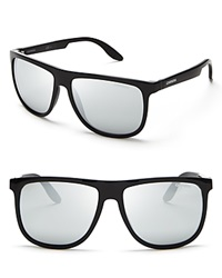 Carrera Mirrored Wayfarer Sunglasses Shiny Black
