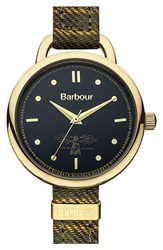 Women's Barbour 'Heritage' Strap Watch 30Mm