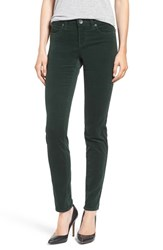 Kut From The Kloth Women's Diana Stretch Corduroy Skinny Pants Deep Green