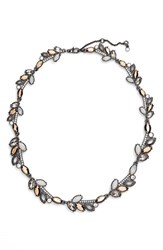 Jenny Packham Women's 'All Around' Crystal Collar Necklace