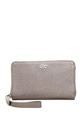 Cole Haan Amalia Smart Phone Wallet Metallic