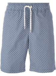 Soulland 'Fairplay' Dotted Shorts Blue