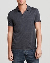 John Varvatos Collection Knit Collared Pullover Slim Fit