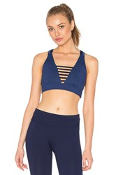 Lorna Jane Twiggy Yoga Bra Blue